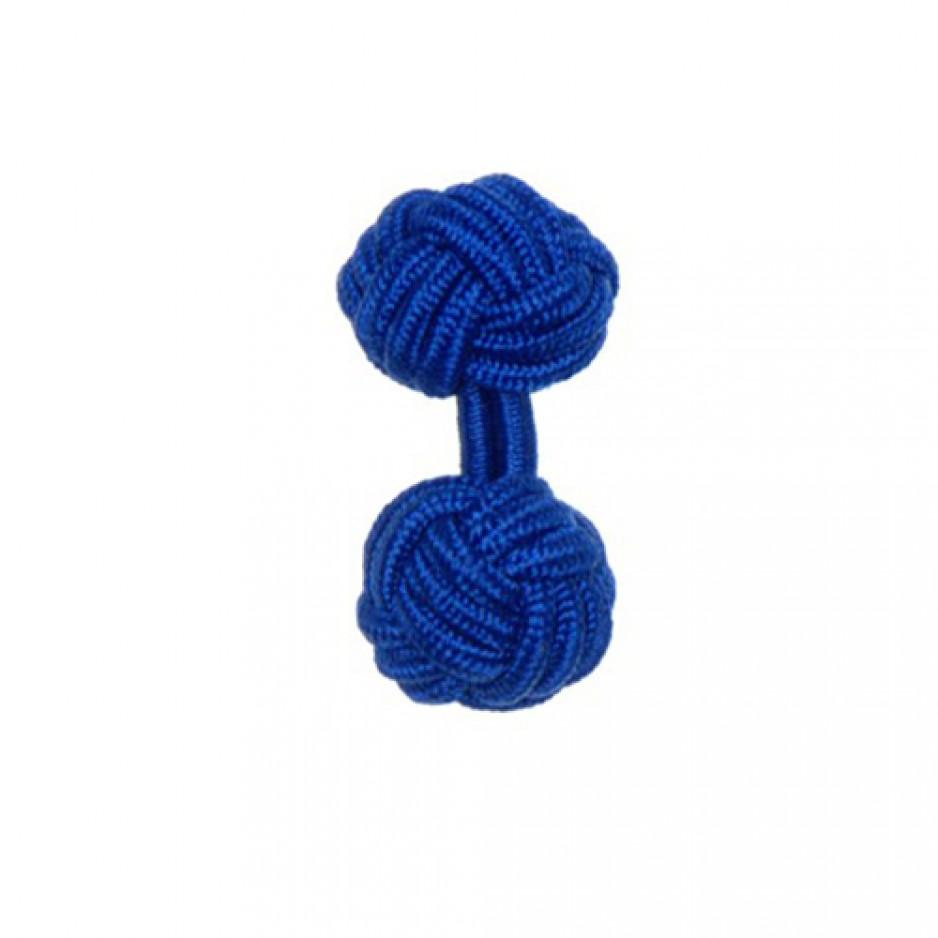 Knot Cufflink New Royal