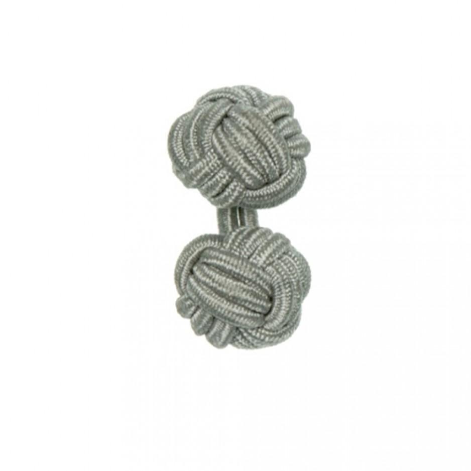 Knot Cufflink Silver