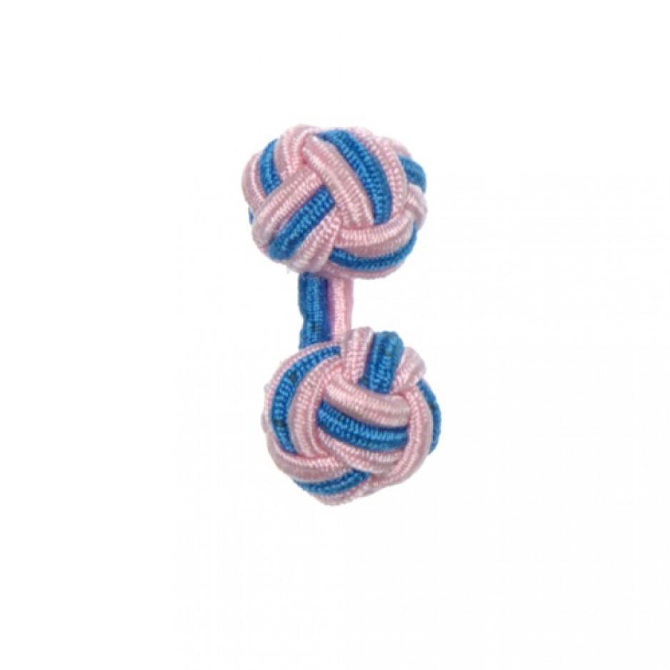 Knot Cufflink PinkElectric