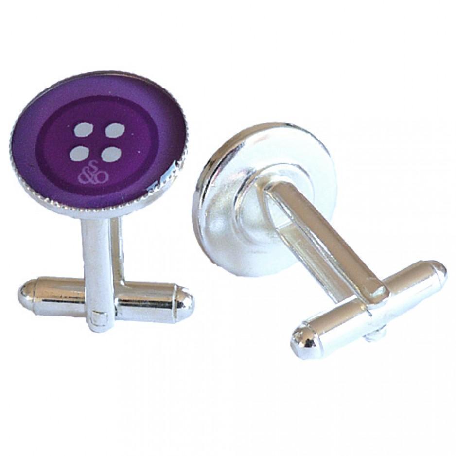Cufflink Purple