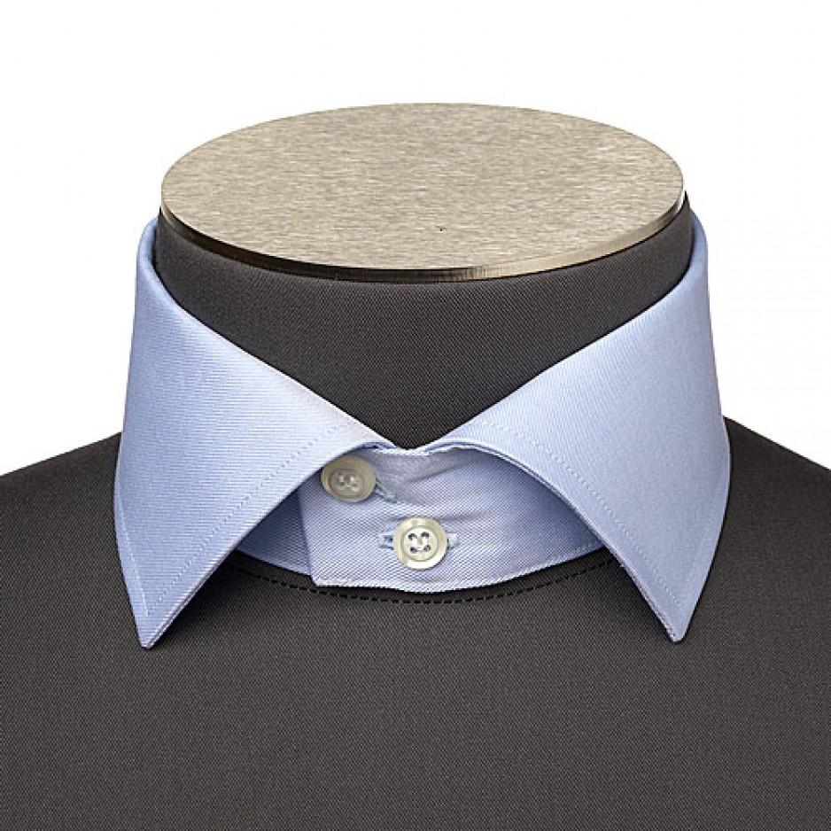 Italian Cutaway Collar 2 Buttons