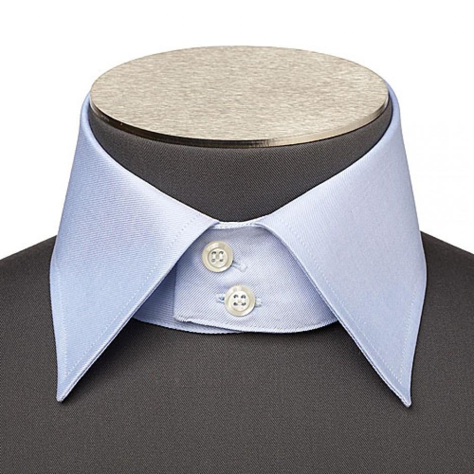 Neapolitan Collar 2 Buttons