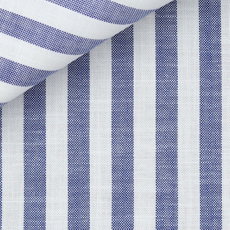 Blue Stripes Chambray