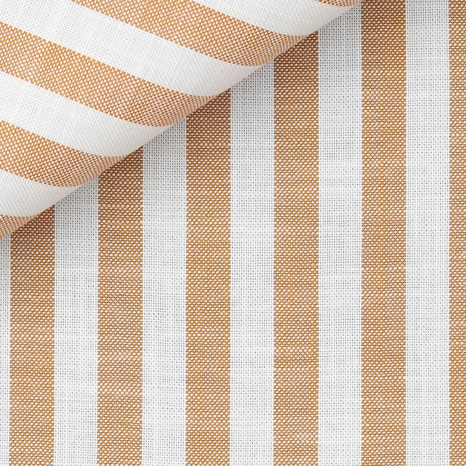 Yellow Stripes Chambray