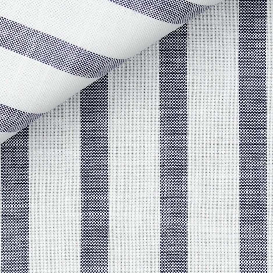 Blue Stripes Chambray