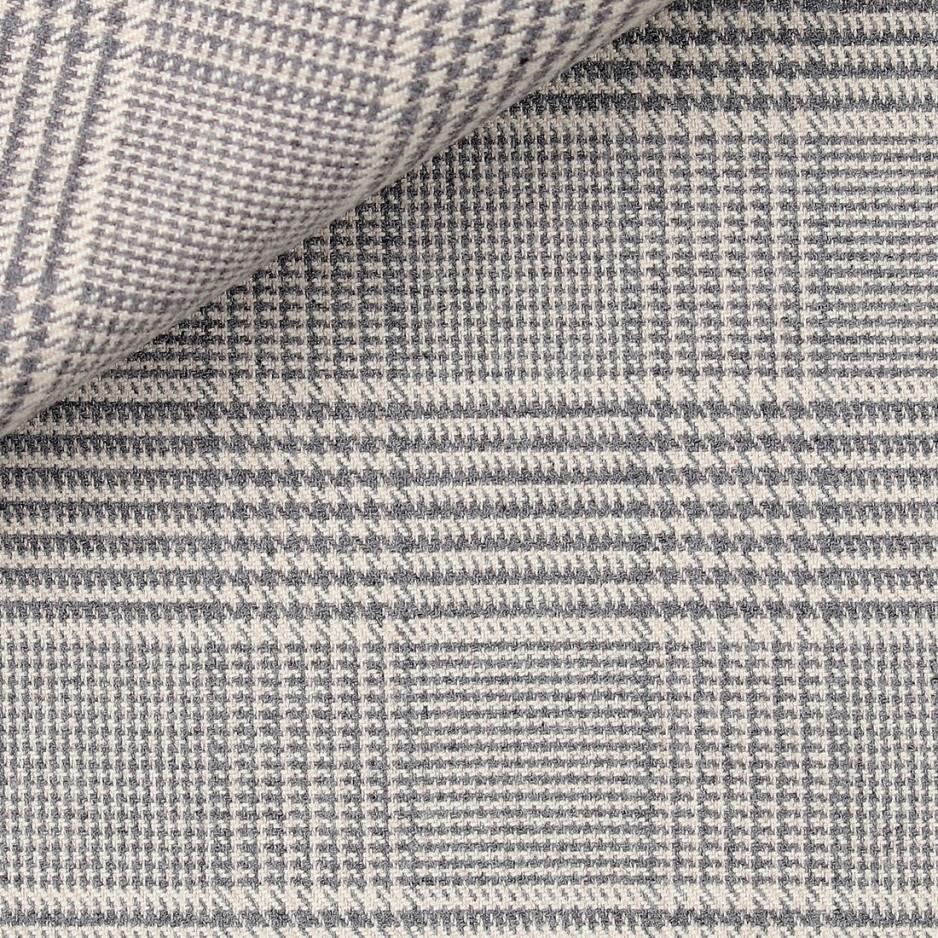 Flannel Grey Check Pattern
