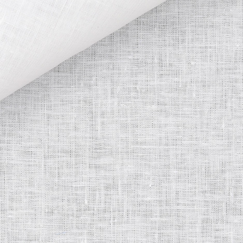 Linen Plain White