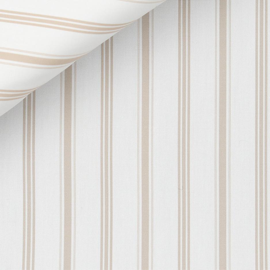 Poplin Stripes Brown