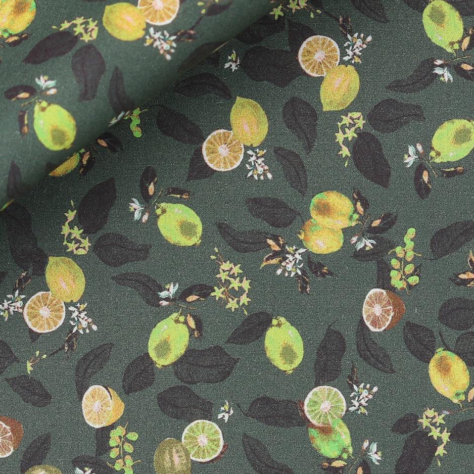 Poplin Pattern Green