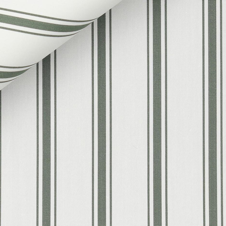 Poplin Stripes Green