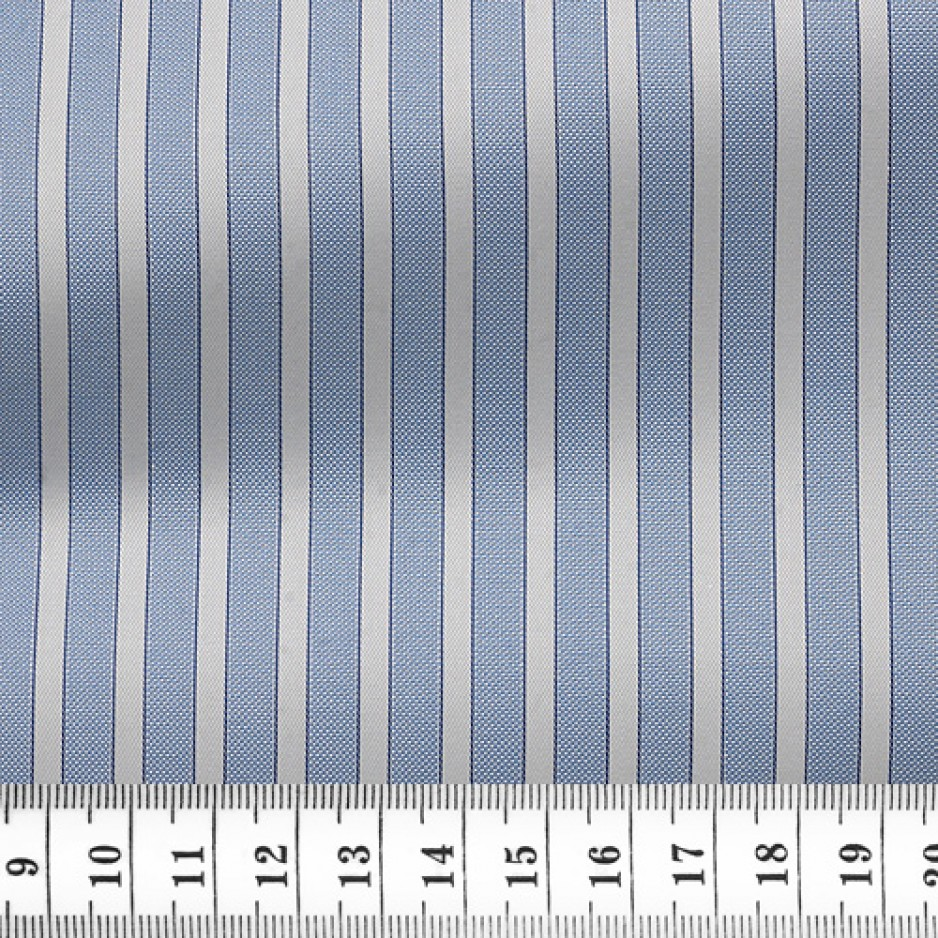 Oxford Stripes Blue White