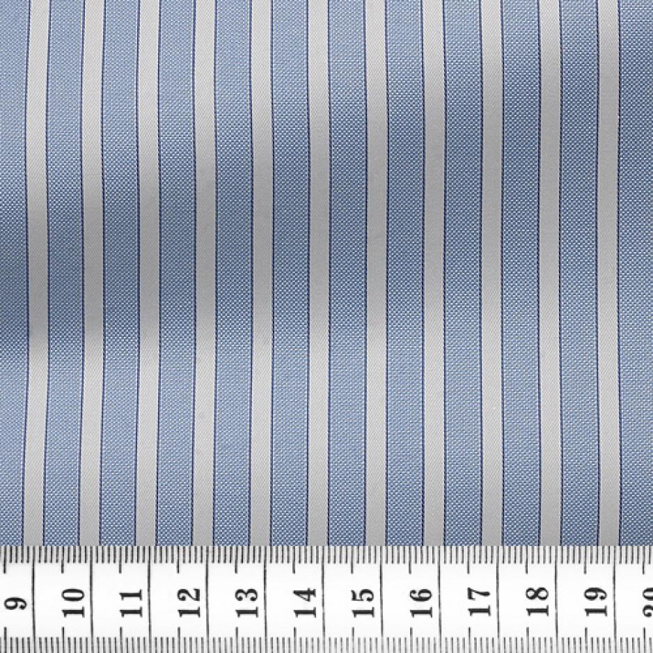 Oxford Stripes Blue White