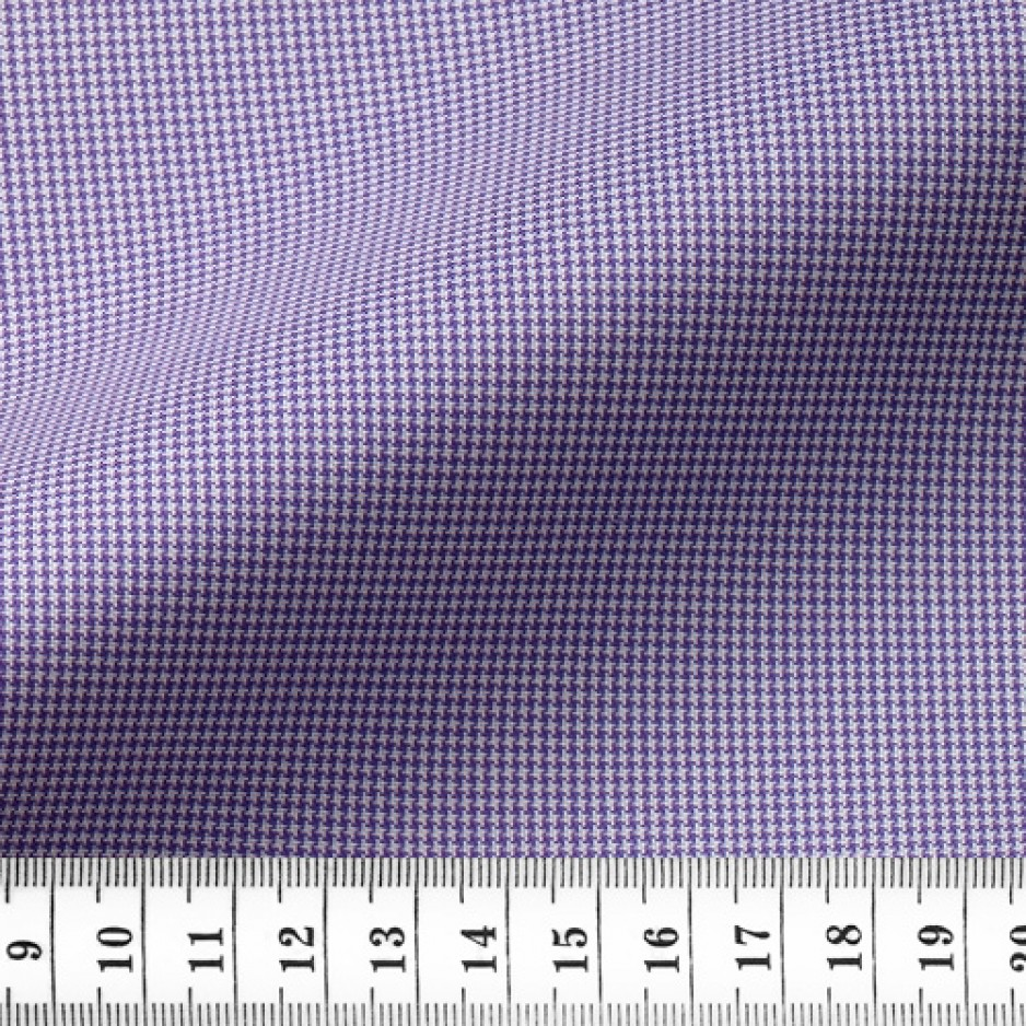 Oxford Check Pattern Purple