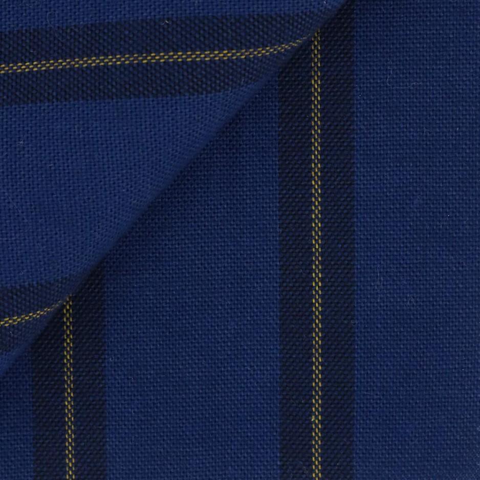 Oxford Stripes Blue Yellow
