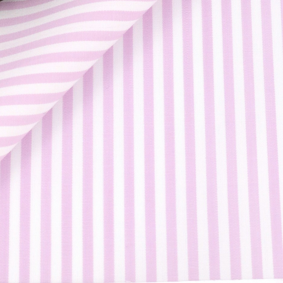 Poplin Stripes Mauve