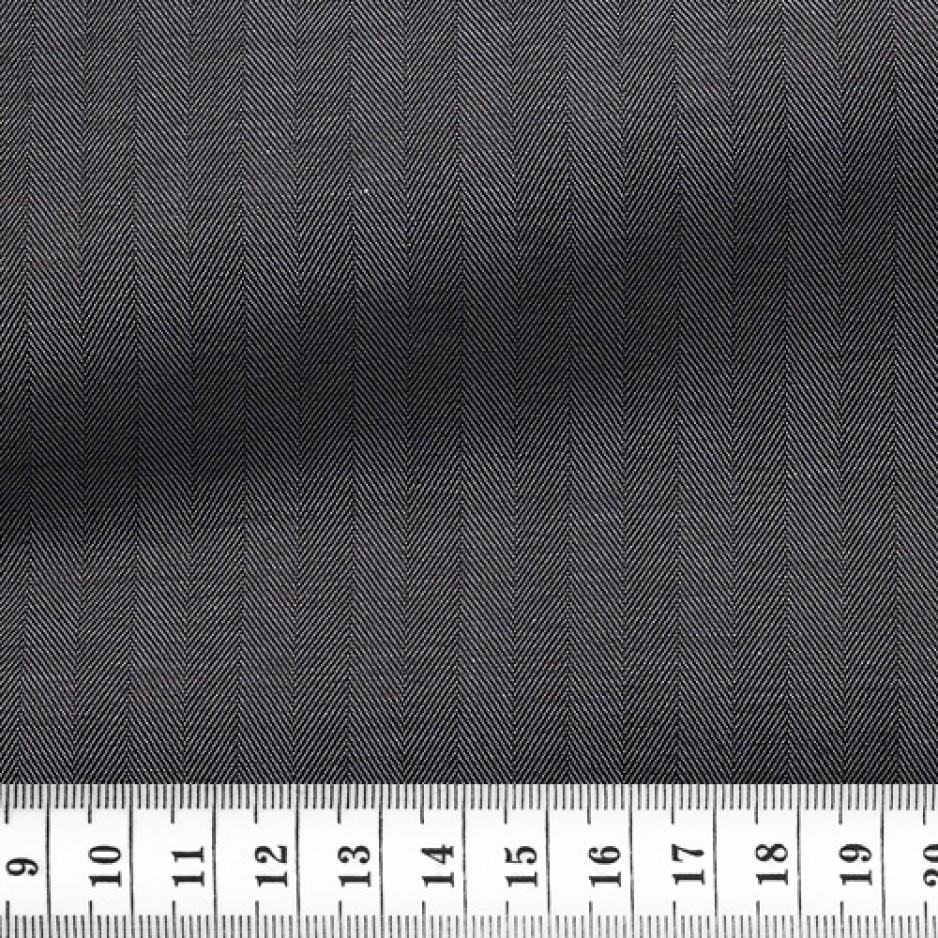 Herringbone Plain Grey
