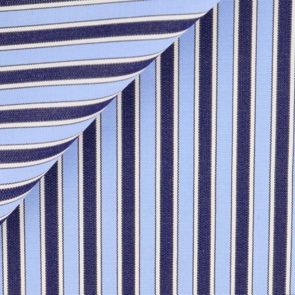 Twill Check Pattern Brown Grey