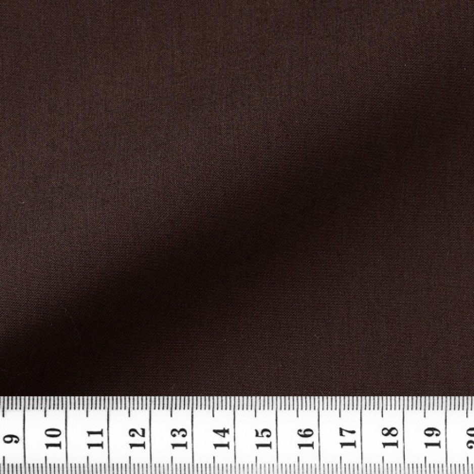 Poplin Plain Brown