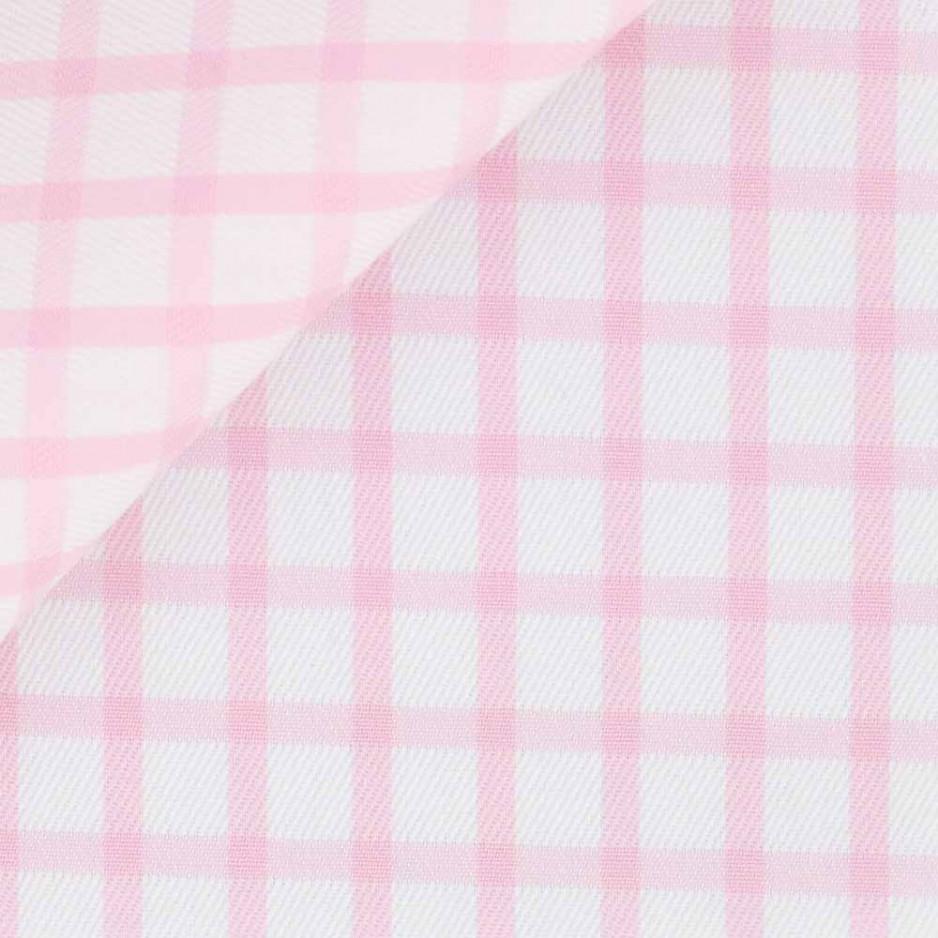 Twill Check Pattern Pink