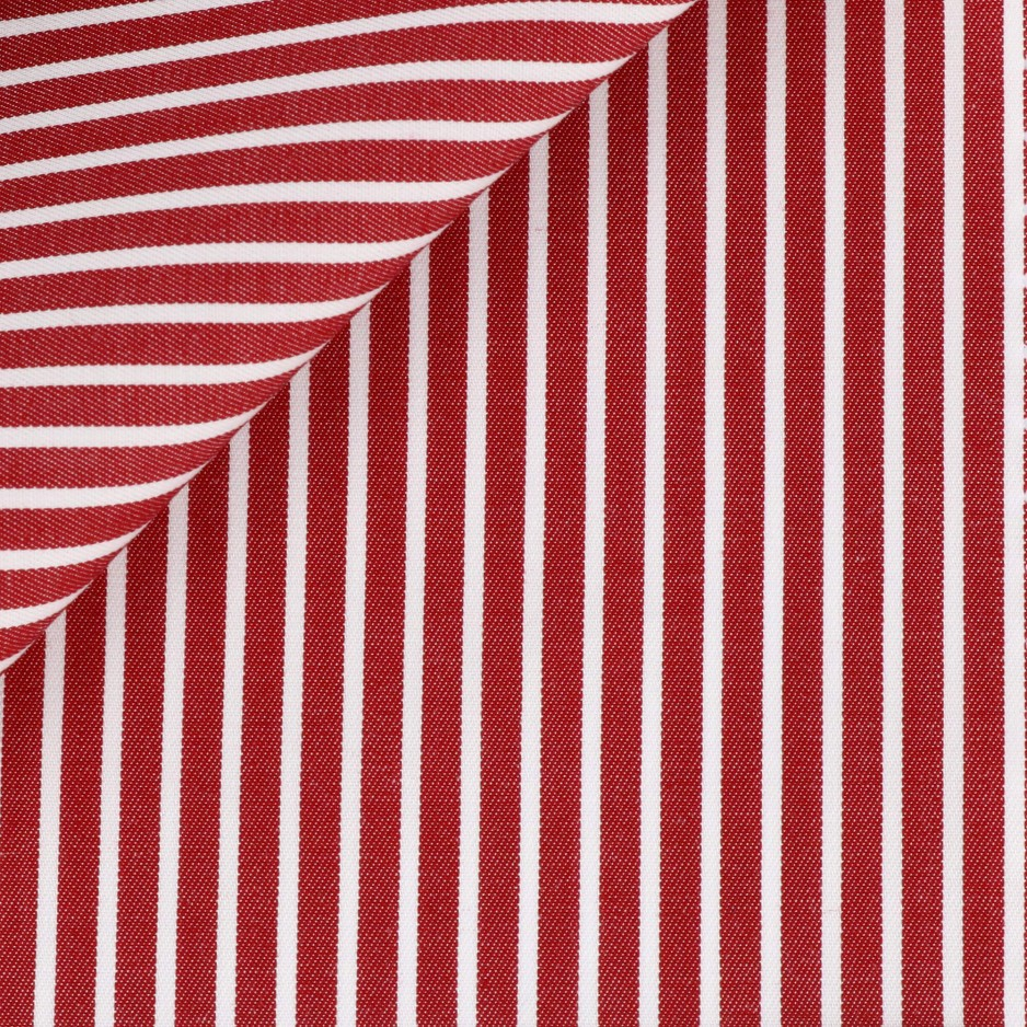 Twill Red Stripes