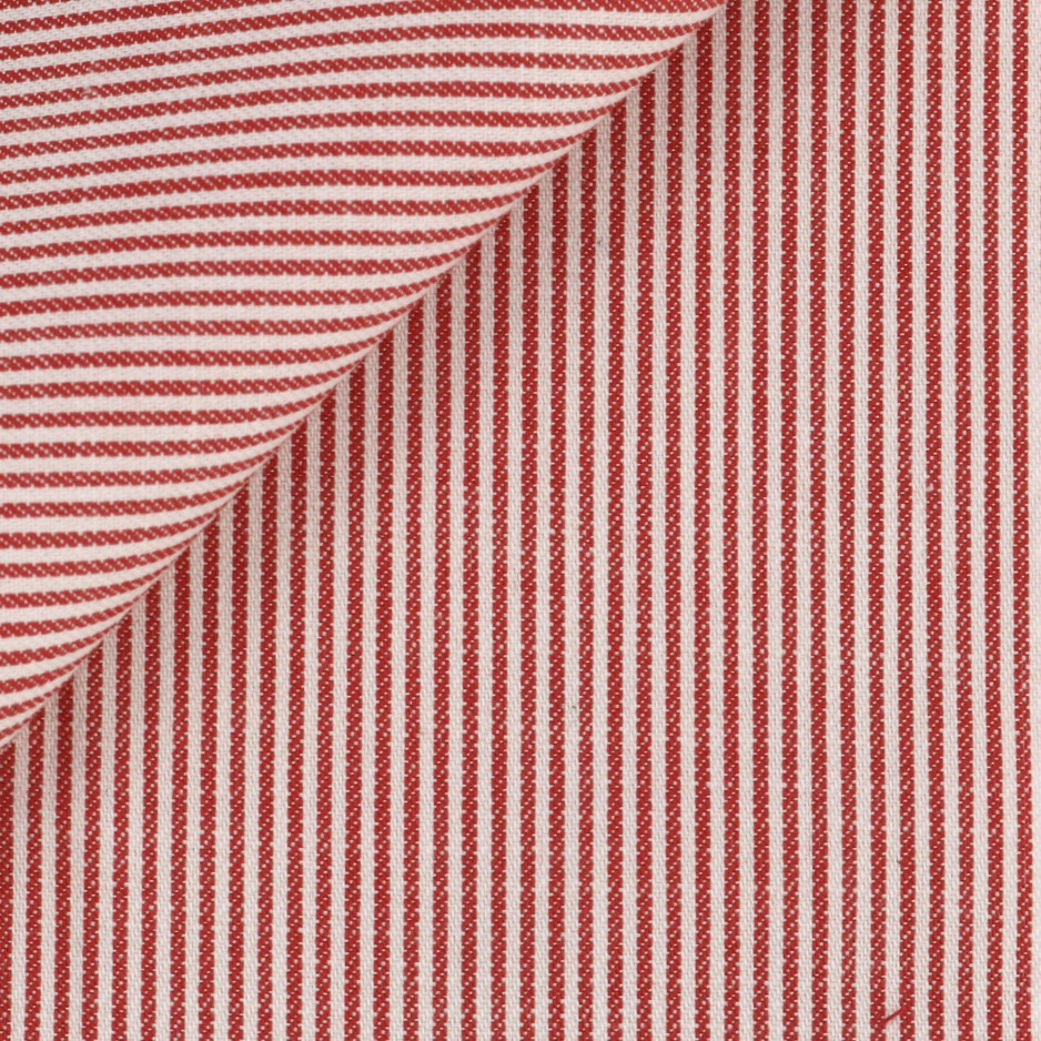 Twill Stripes Red