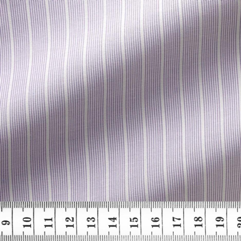 Poplin Stripes Mauve