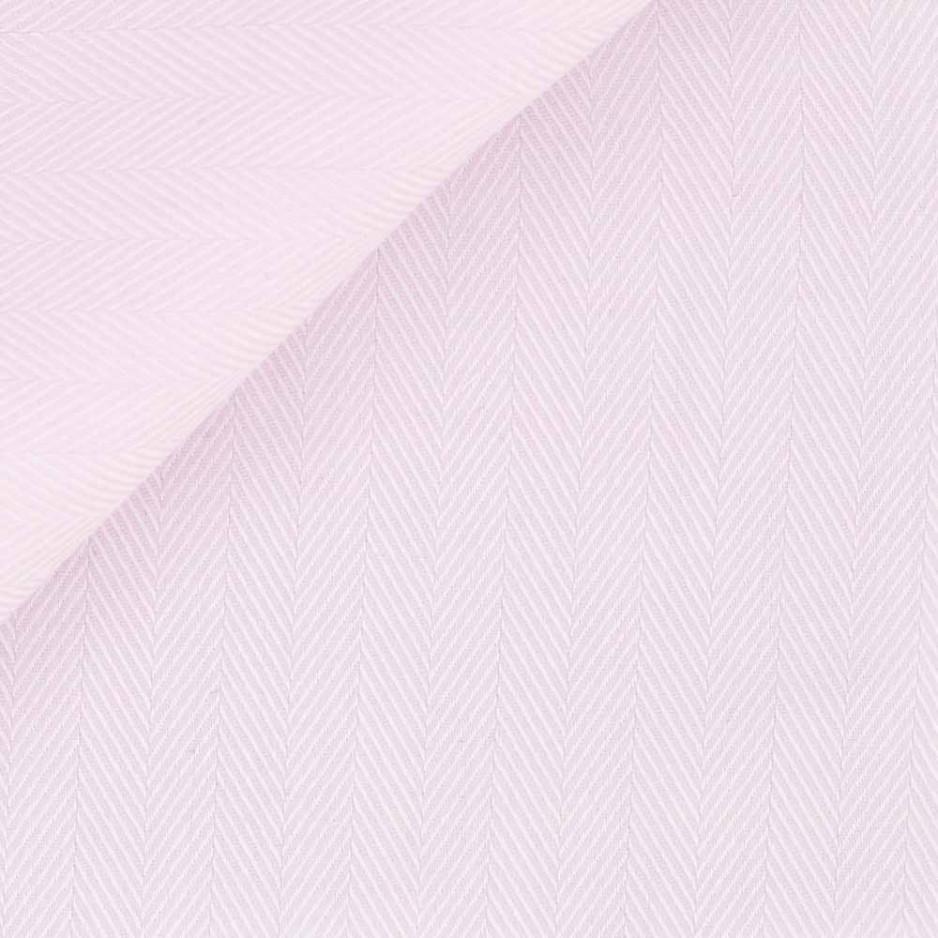 Herringbone Plain Pink