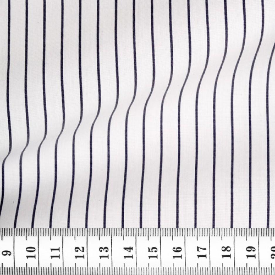 Poplin Stripes Grey