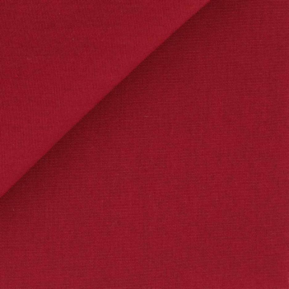 Poplin Plain Red