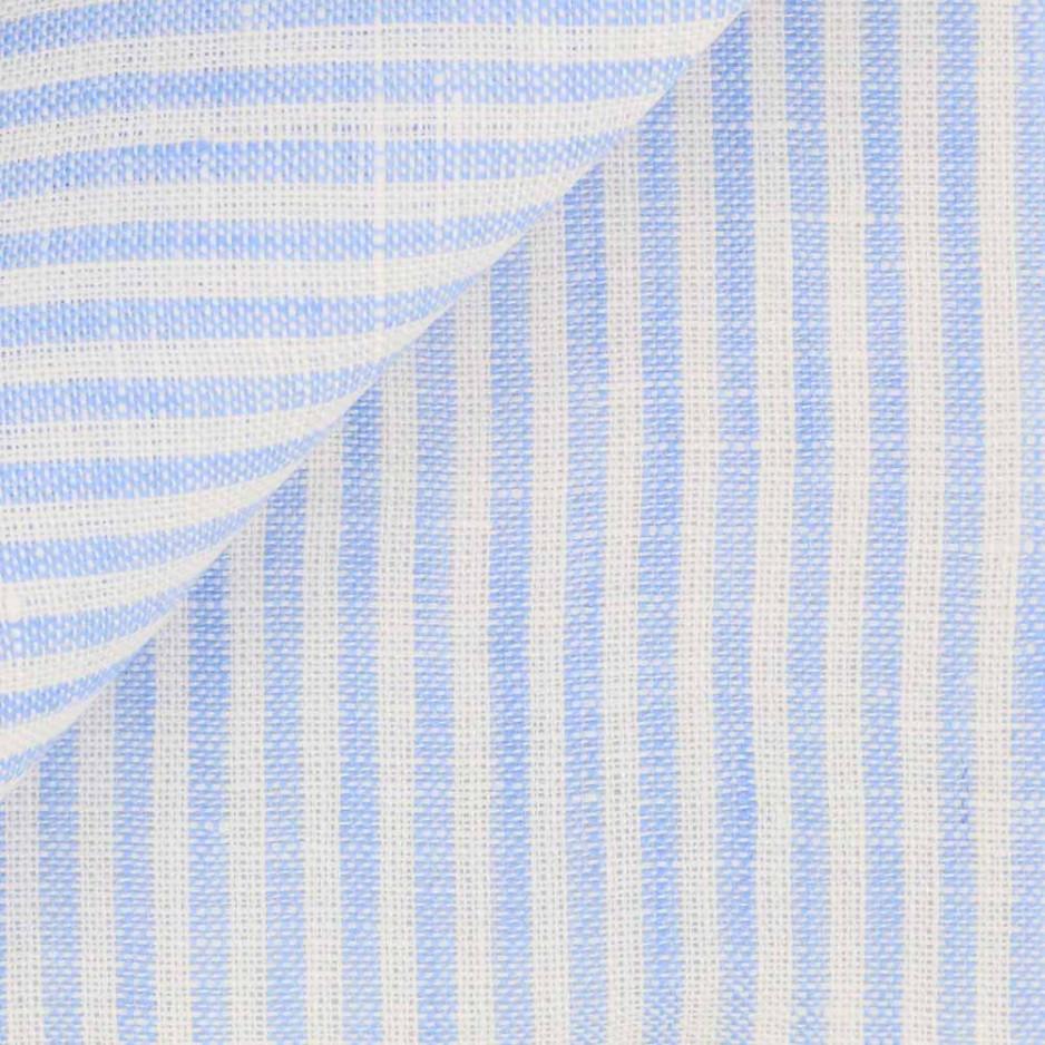 Linen Stripes Blue