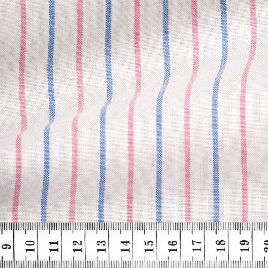 Oxford Stripes Pink Blue