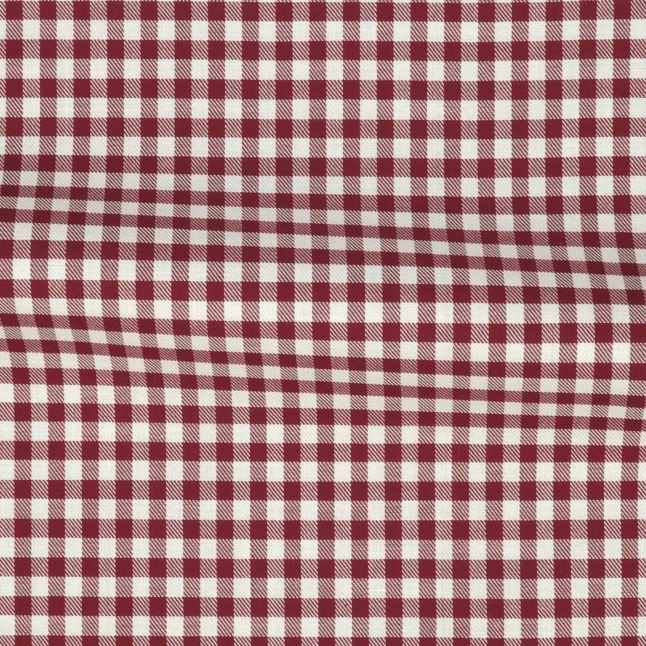 Twill Stripes Red