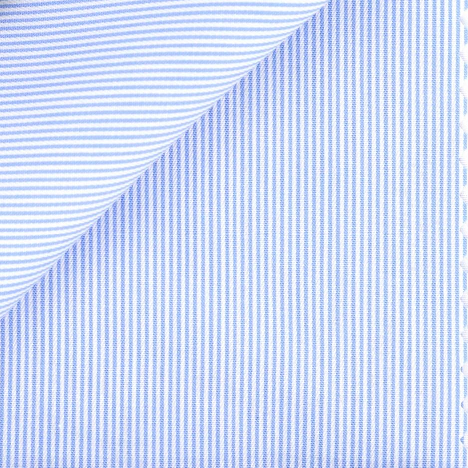 Twill Stripes Blue (easy care)
