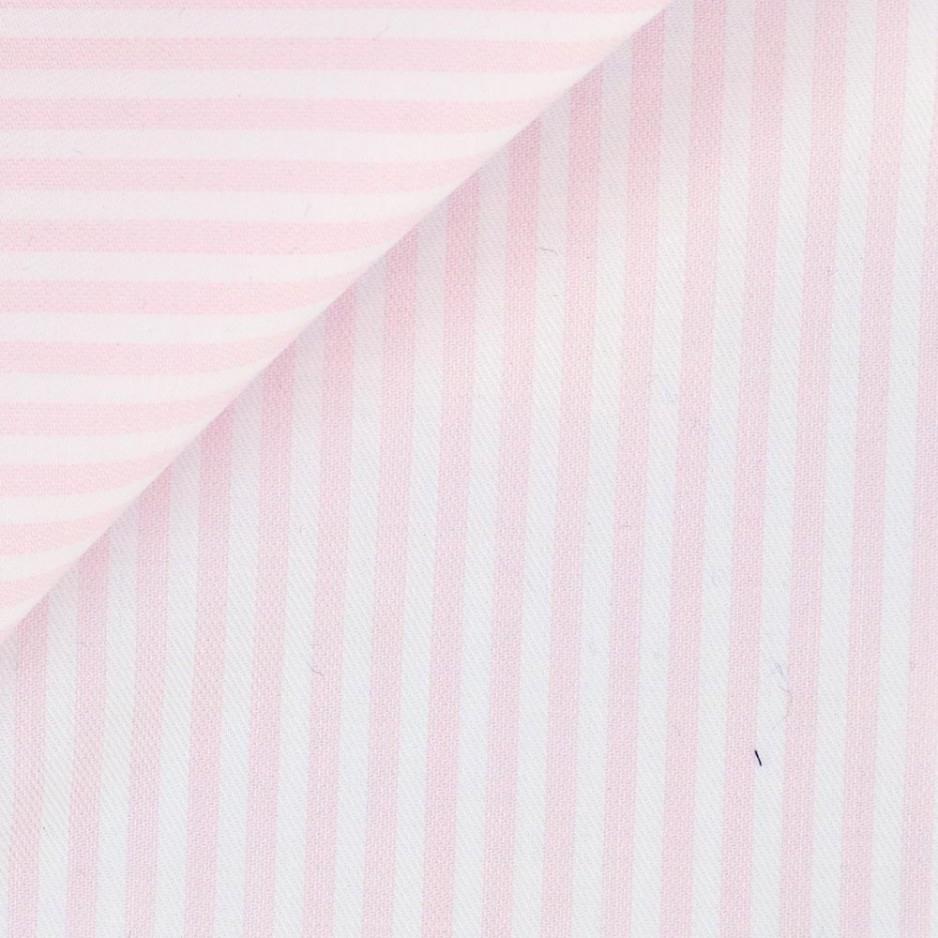 Twill Stripes Pink