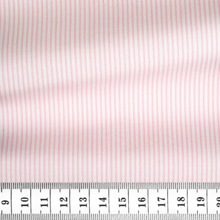 Poplin Stripes Pink