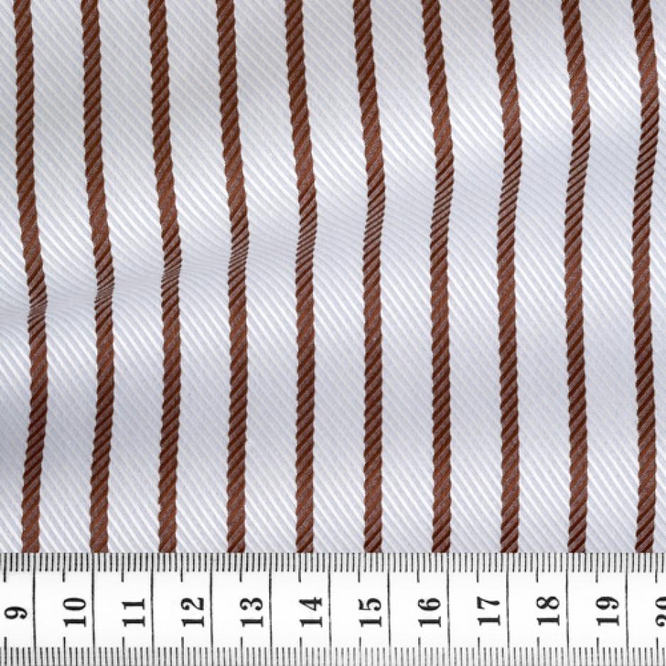Herringbone Stripes Blue Brown