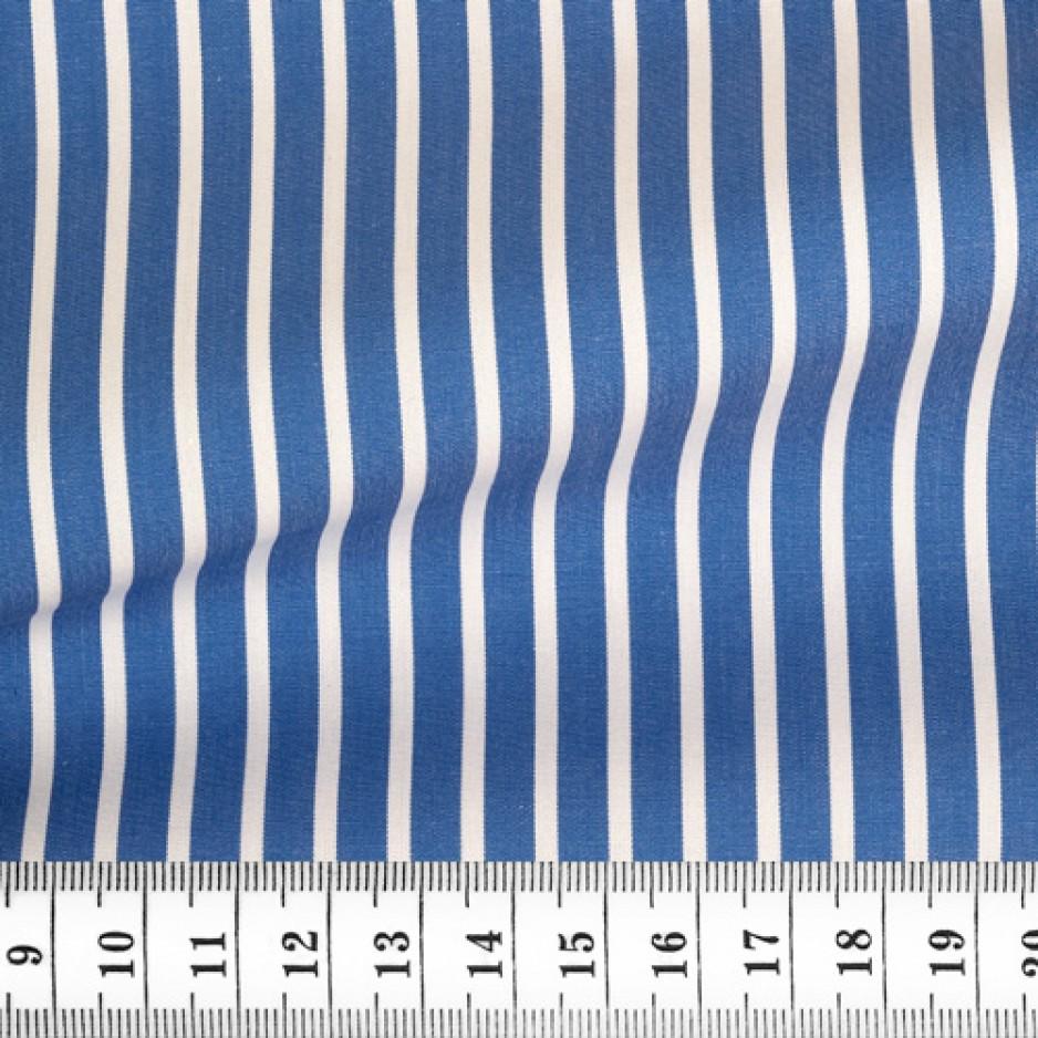 End on End Stripes Blue