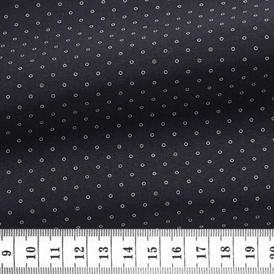 Poplin Pattern Black
