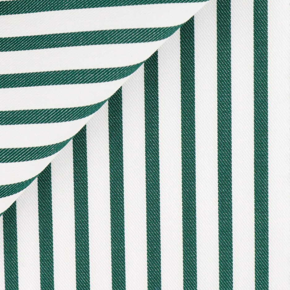 Twill Stripes Green