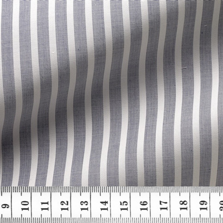 End on End Stripes Grey