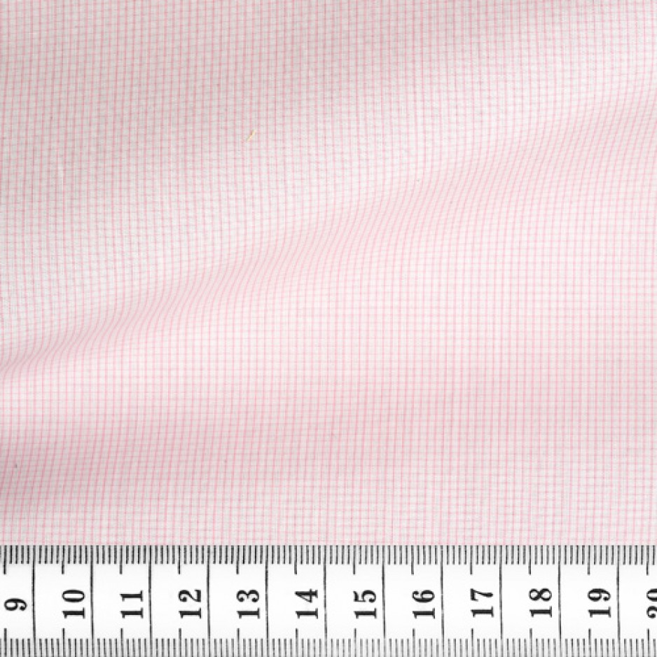 Poplin Check Pattern Pink