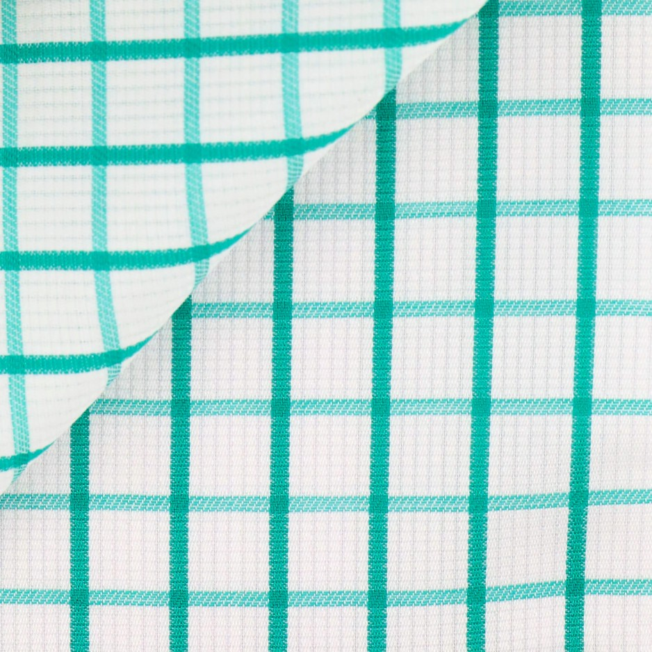 Oxford Check Pattern Green