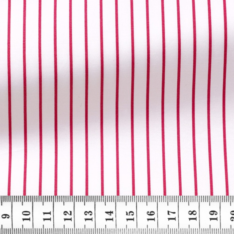 Poplin Stripes Red