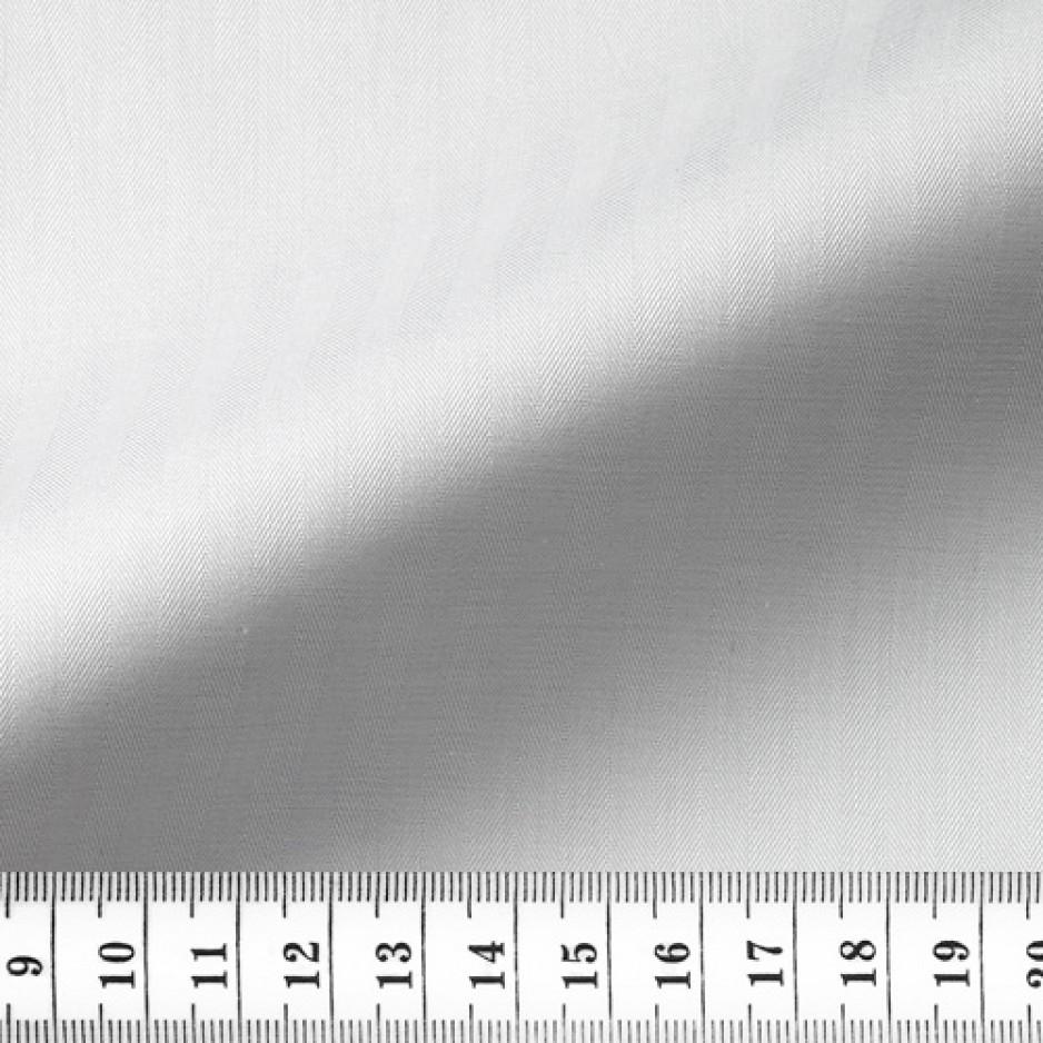 Herringbone Plain White