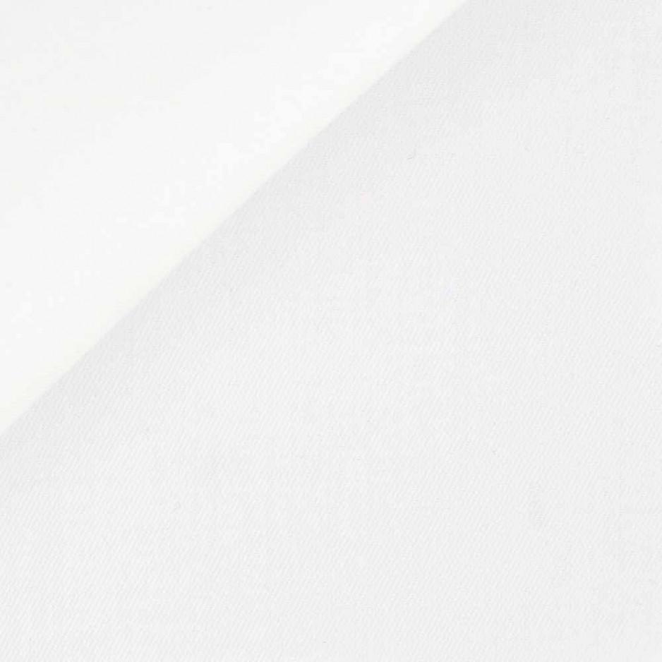 Twill Plain White