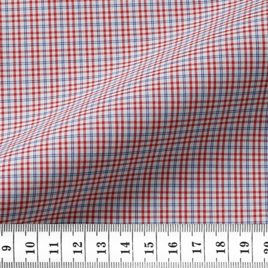 Zephir Check Pattern Red Blue