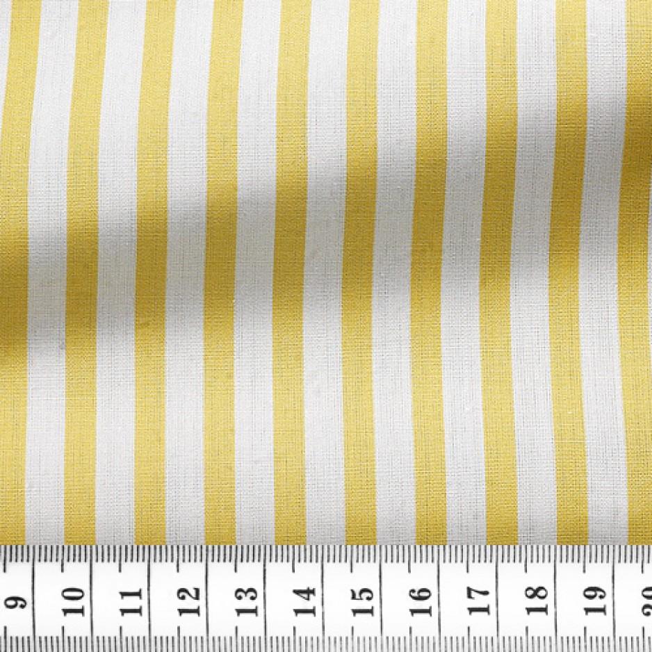 Poplin Stripes Yellow