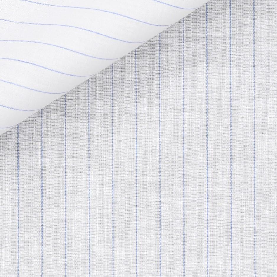 Linen Stripes White