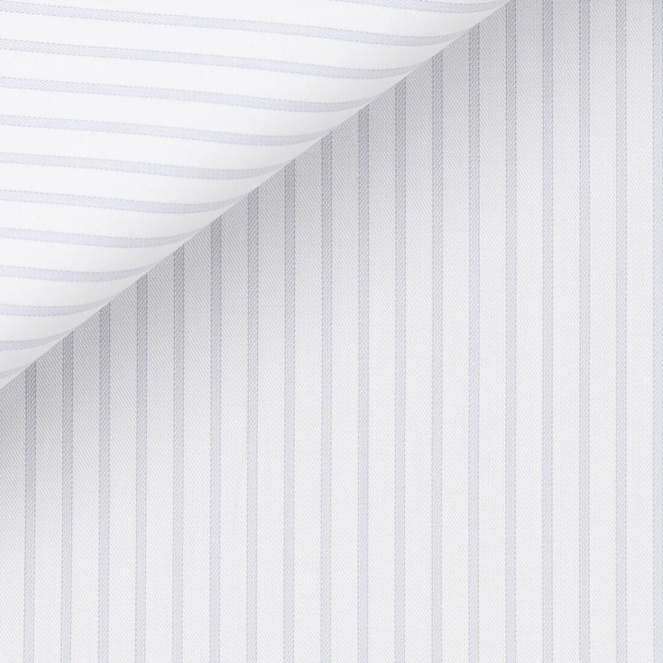 Twill Stripes Grey