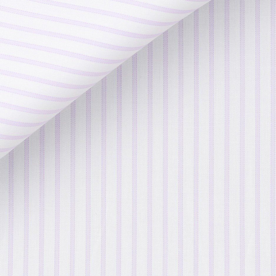 Twill Stripes Mauve